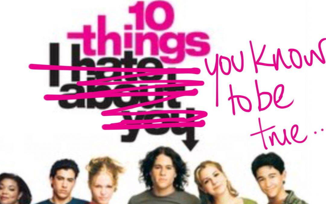 Ten Things You Know To Be True…