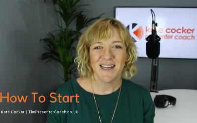 Radio Presenter Tip #8   How To Start