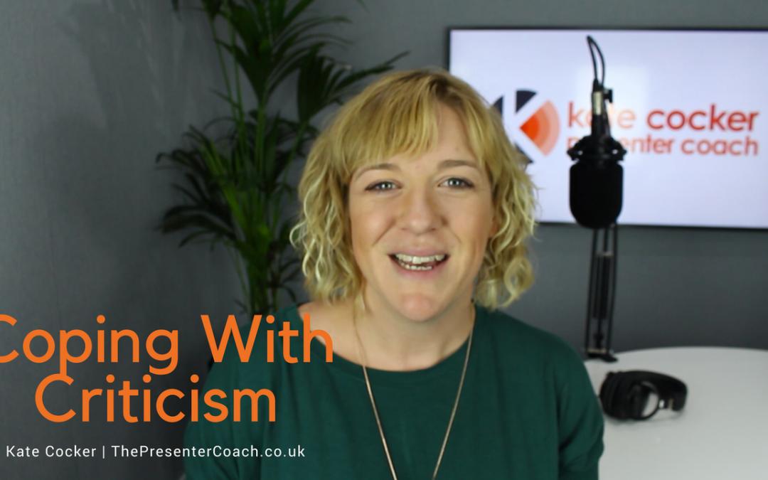 Radio Presenter Tip #9 | Coping With Criticism